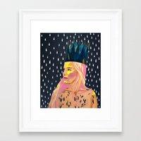 princess bubblegum Framed Art Prints featuring Bubblegum Princess by AprilNicole