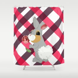 Thumper-Roo Shower Curtain