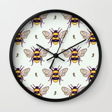honey guards Wall Clock