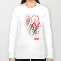 carnage Long Sleeve T-shirts featuring CARNaGE by Psychojoe151