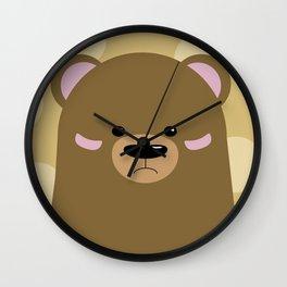 Bear 2 Wall Clock