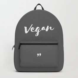 QUOTE Vegan Backpack