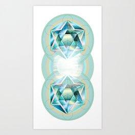 Sacred Circles Art Print