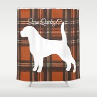 custom Shower Curtains featuring Custom Listing by Canis Picta