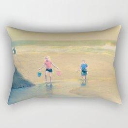 Jack and Jill and Pails Rectangular Pillow