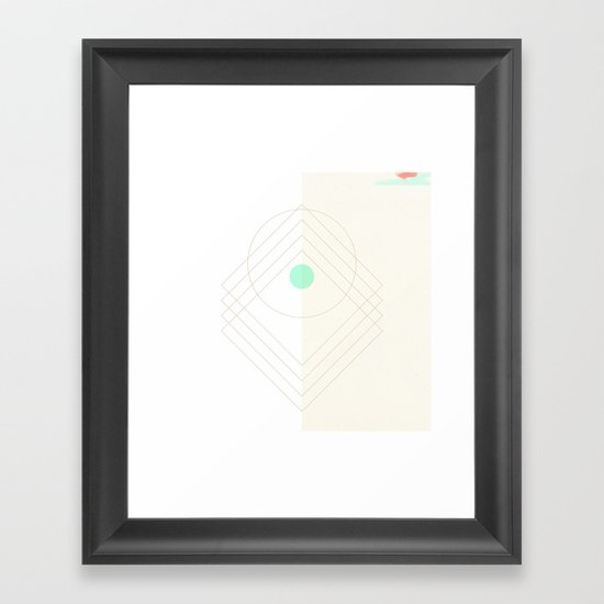 Shea Framed Art Print