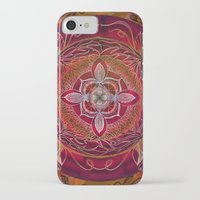 chakra iPhone & iPod Cases featuring Root Chakra by brenda erickson