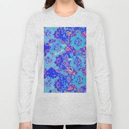 Flowers Pattern 3 QR Long Sleeve T-shirt