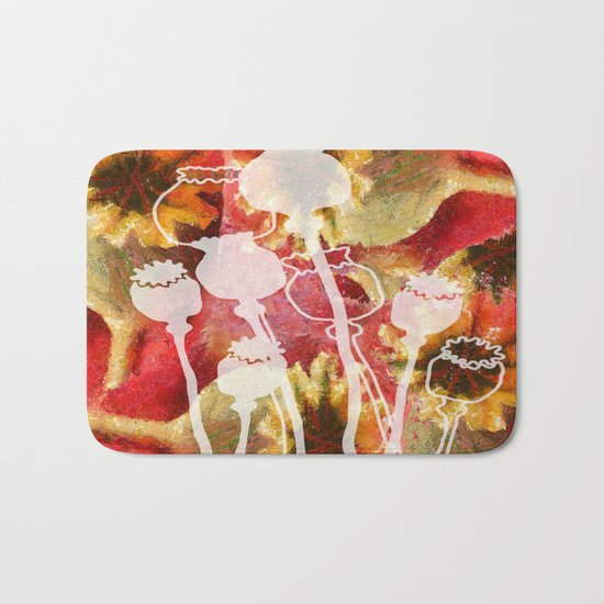 Popy variation 5th Bath Mat