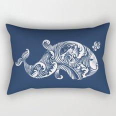 The White Whale  Rectangular Pillow