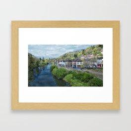 Ironbridge Town Framed Art Print