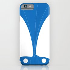 Silhouette Racers - Mazda MX5 in Blue iPhone 6s Slim Case
