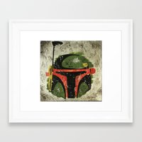 boba Framed Art Prints featuring Boba by John Rowe