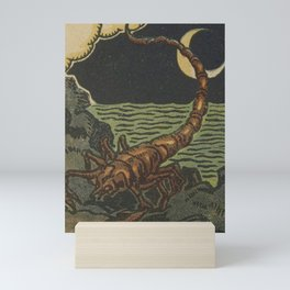 French Tarot Scorpion Mini Art Print