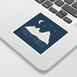 sonoran night Sticker