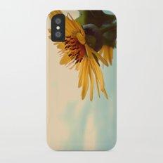 Facing the Sky iPhone X Slim Case