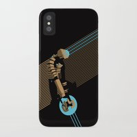 engineer iPhone & iPod Cases featuring The Engineer by Florey