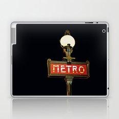 Metro - Paris Subway Sign Laptop & iPad Skin