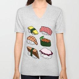 Sushi! Unisex V-Neck