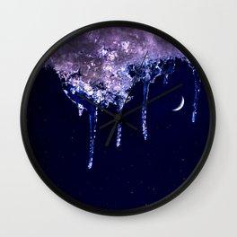 Cool night Wall Clock