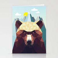 mountain Stationery Cards featuring Bear Mountain  by Davies Babies