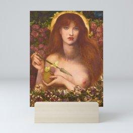 Dante Gabriel Rossetti - Venus Verticordia, 1868 Mini Art Print