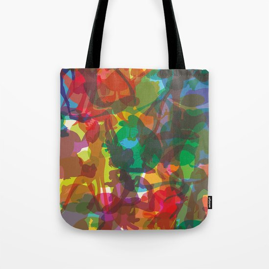 50 famous characters (solid) Tote Bag