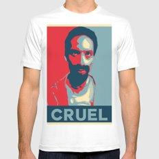 Cruel Cruelcruelcruel MEDIUM White Mens Fitted Tee