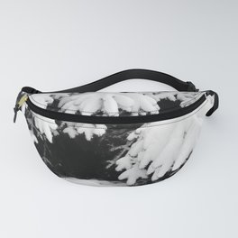 Snow Covered Fir Tree Fanny Pack