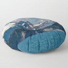 Kachemak Bay Mountains - Alaska Floor Pillow