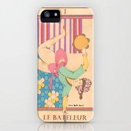 Tarot Card-The Juggler-Le Bateleur iPhone Case
