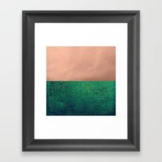 NEW EMOTIONS - LUSH MEADOW Framed Art Print