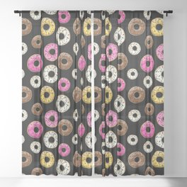 Abs Are Cool But Have You Tried Donuts Sheer Curtain