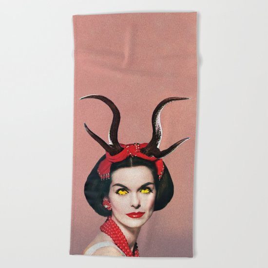 Demon Beach Towel