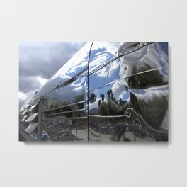 COOL CLASSIC VINTAGE AIRSTREAM Metal Print