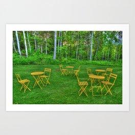 Empty Seats Art Print