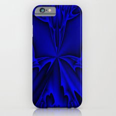 Midnight Blue Abstract 5 iPhone 6 Slim Case