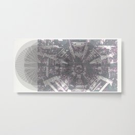CERN: The Large Hadron Collider: A Love Story Metal Print