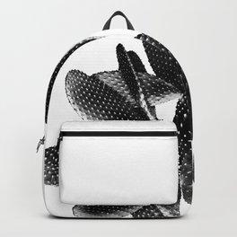 Black White Cactus #1 #plant #decor #art #society6 Backpack