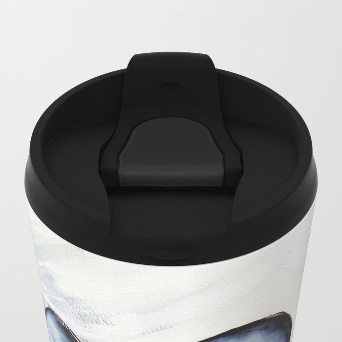 Wild Horses Metal Travel Mug