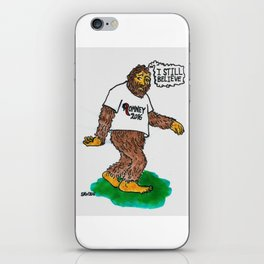 Bigfoot Still Believes iPhone Skin