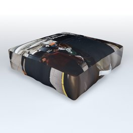 Wallstreet Subway Outdoor Floor Cushion