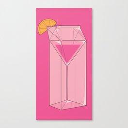 Martini in a box Canvas Print