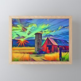 Ideal Farm Framed Mini Art Print
