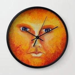Placid Fire Wall Clock