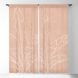 Plant Illustration X Blackout Curtain