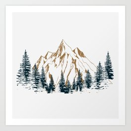 mountain # 4 Art Print