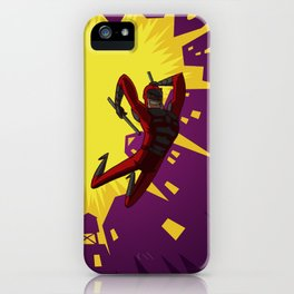 Daredevil Jump iPhone Case