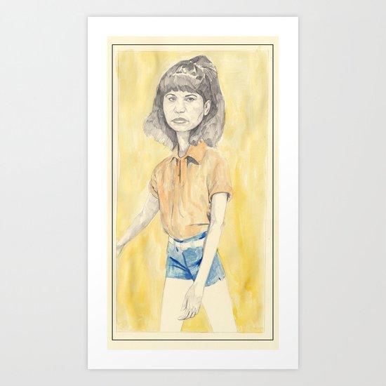 maneater - Omaima Nelson Art Print