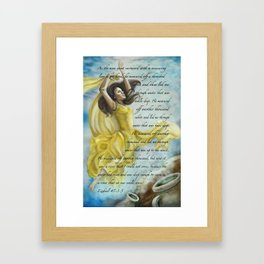 Dancing Glory Framed Art Print
